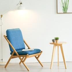 北歐單人休閑沙發椅小戶型客廳布藝沙發臥室懶人可拆洗椅子